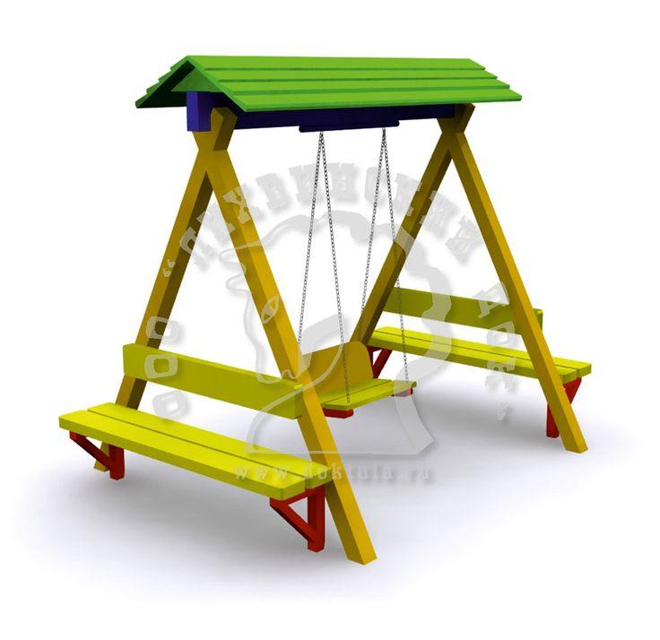 стол для игры на детской площадке - Google Search