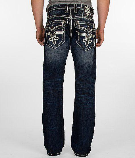 $158 Rock Revival Chopper Boot Jean