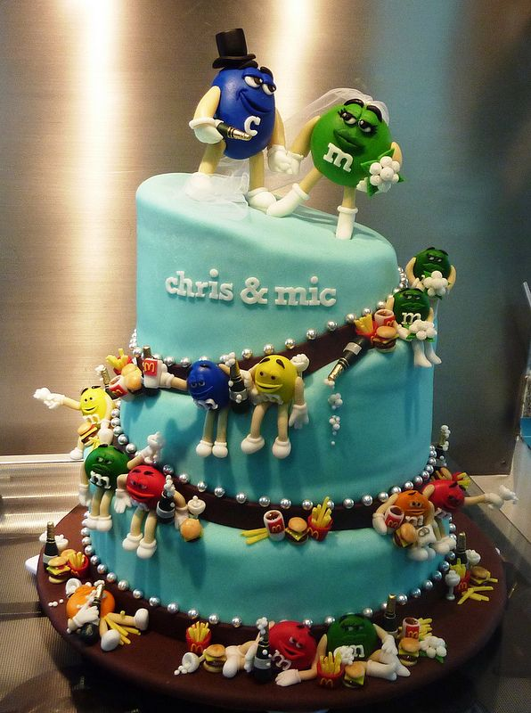 Mcdonald S Wedding Cake