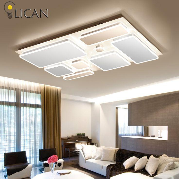 LICAN New Design Modern LED Ceiling Lights Living Room Bedroom Abajur  Luminarias Lustre De Plafond Moderne Part 74