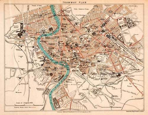 Best Maps Of Rome And Vatican City Images On Pinterest - Ancient rome map tiber river