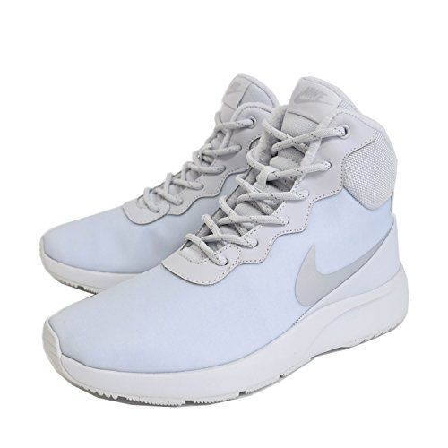 Nike Women Tanjun HighTop Winter Shoe White 6 ** Check out this great product.