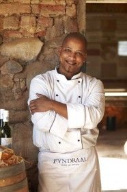 "It might come as a surprise that Franschhoek — the ""French Corner"" of the Cape Winelands also known as South Africa's culinary capital  –  offers more than bouillabaisse and coq au vin.  Rather than turning to Europe for inspiration, 31-year-old Shaun Schoeman, who is the head chef at Solms-Delta's Fyndraai Restaurant, is looking towards his own heritage for dishes that speak the rich languages of South Africa."