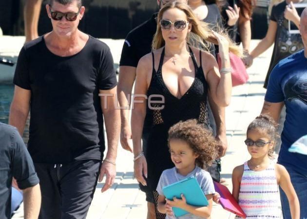 Mariah Carey: Νέες φωτογραφίες από τις χλιδάτες οικογενειακές διακοπές στη Μύκονο!