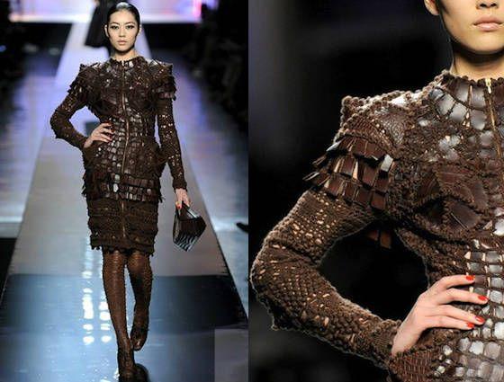 #genialit� di Gaultier  Skirt Knit  #2dayslook #SkirtKnit #fashion #new  www.2dayslook.com
