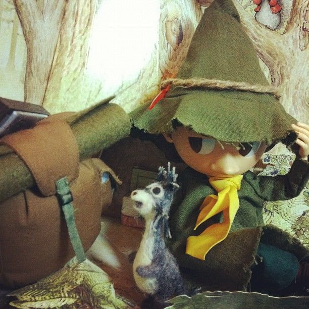 """You can't ever be really free if you admire somebody too much"" said Snufkin. 