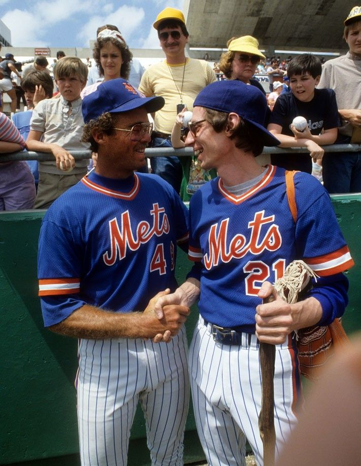 Ed Hearn and Sidd Finch - New York Mets