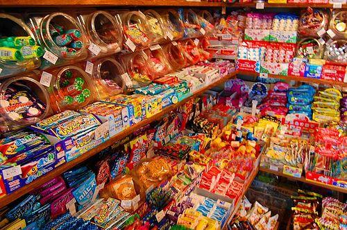 懐かしい Nostalgic candy store from the archives of living in '70s Japan =)