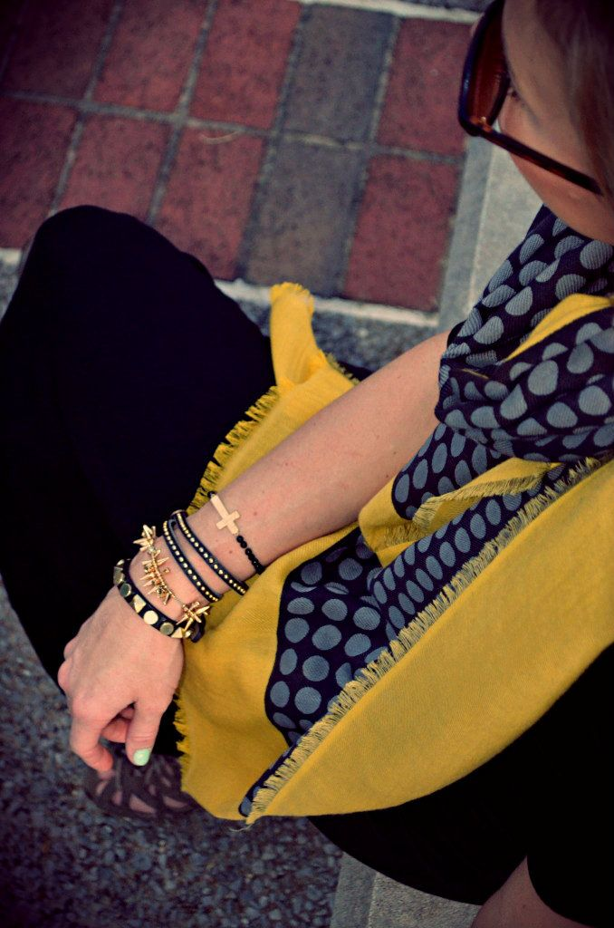 accessorize it: Armcandy, Outfit Styles, Fashion Blog, Work Outfit, Polkadots