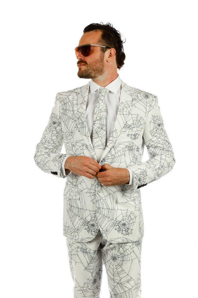 Pre-Order - My Spidey Sense is Tingling Spiderwebs Halloween Suit - Delivery Early October 2016