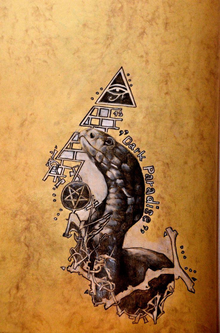 Dark Paradise- skica tetovani