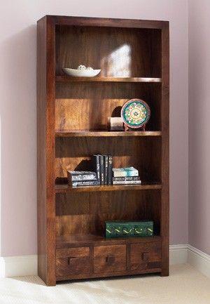 Satara Mango Tall Bookcase