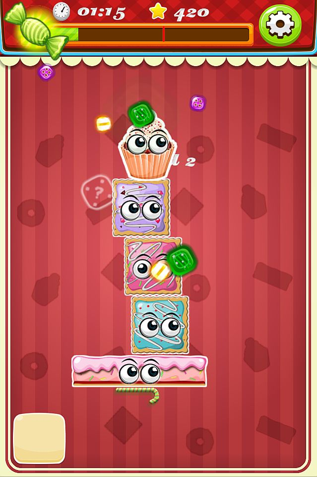 Cake Connect is a really fun casual game, with 50 levels.