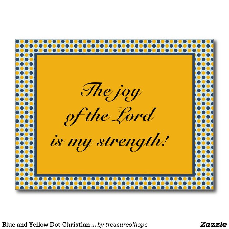 The 50 best christian inspirational postcards and greeting cards blue and yellow dot christian bible verse postcard bible versesgreeting cardspostcardsscripture m4hsunfo