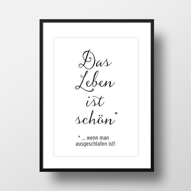 Auf das Leben, Kunstdruck / art print for home decoration by Amy & Kurt Berlin via DaWanda.com