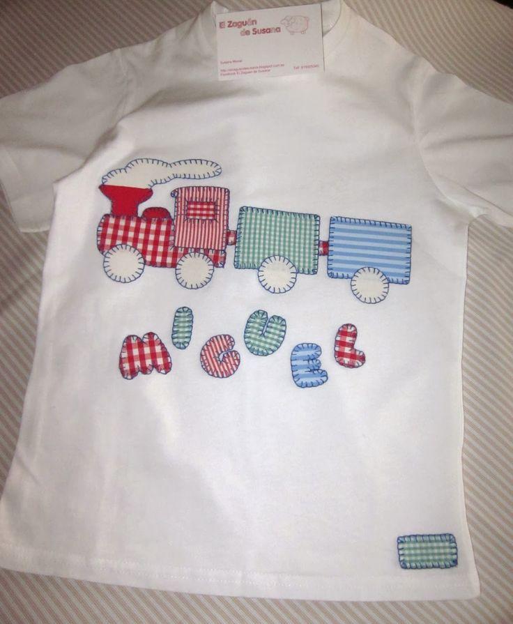 Costura creativa y patchwork. Camisetas personalizadas