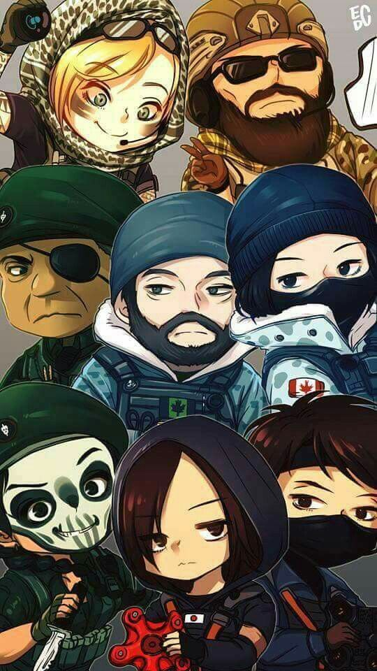 17 Best Images About Tom Clancys Rainbow Six Seige On