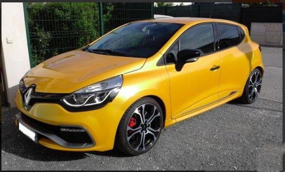 RENAULT CLIO 4 RS TROPHY EDC 220 Jaune Sirius Série Limitée Num. VillePignans 83790 Prix 24 000 € #auto #autodeal24