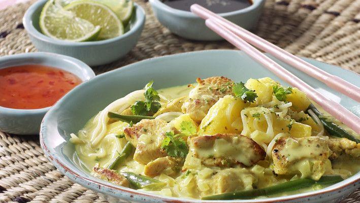 Vietnamesisk kylling i karri