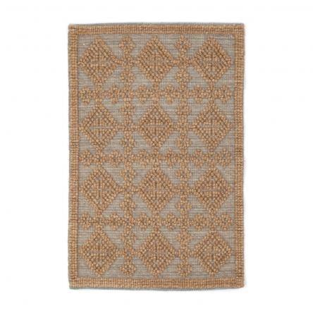 Alpine Diamond Hand Woven Rug | Slate | PREORDER