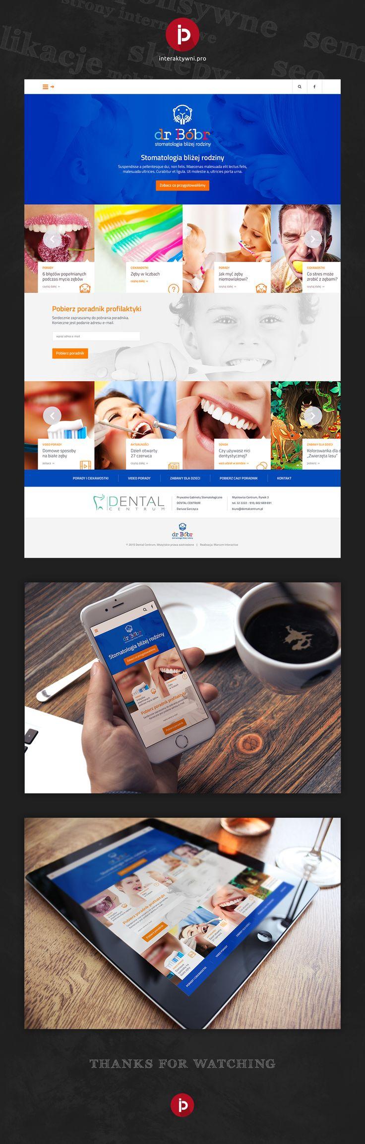 Owocem naszej współpracy z agencją PR Guarana jest informacyjny serwis internetowy na temat profilaktyki próchnicy i chorób jamy ustnej stworzony dla Prywatnych Gabinetów Dentystycznych Dental Centrum. Responsywnie, intuicyjnie, ciekawie. // The result of our partnership with PR Guarana agency is an informative website about prevention of tooth decay and oral diseases created for Private Dental Offices Dental Center. Responsive, intuitive, interesting. #responsywnestronyinternetowe…
