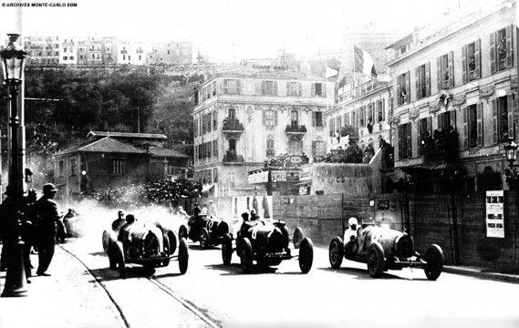 1929 - the first Monaco Grand Prix