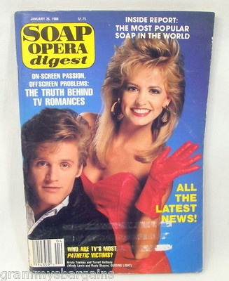 Soap Opera Digest January 26 1988 Sandi Ferguson R Langschwadt Terrell Anthony #soaps #soapoperadigest on ebay www.grammysbargains.com