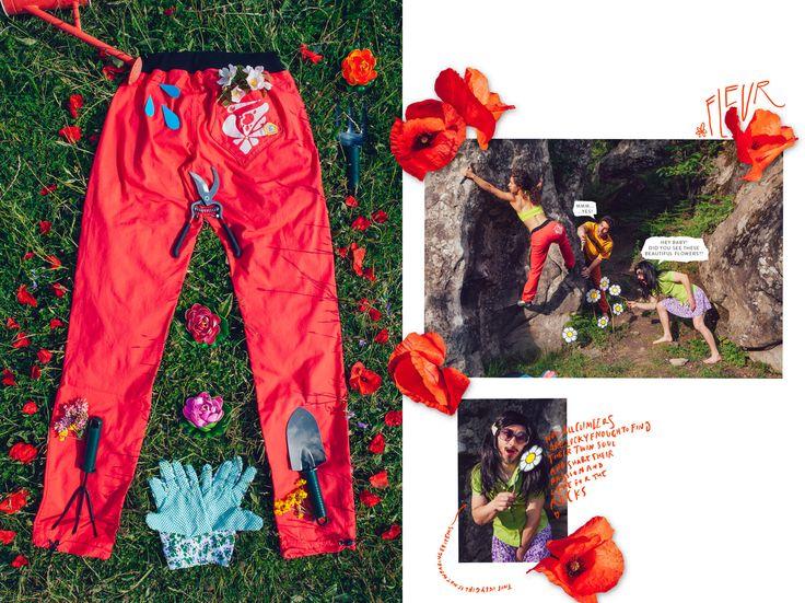 Fleur pants adv
