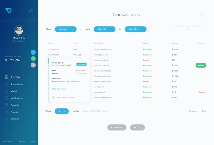 06.01 ozan dashboard transactions
