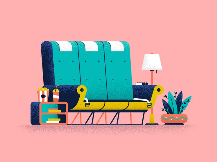 Part of some illustrations made last month for Apex Experience Magazine about in-flight entertainment :)