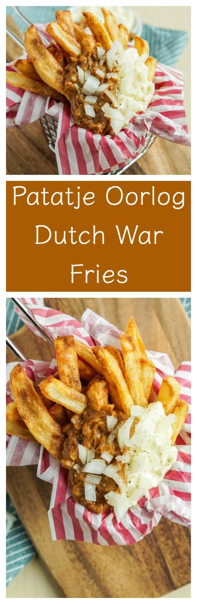 PATATJE OORLOG: Fries - Netherlands