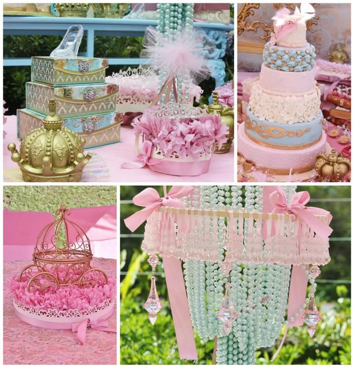 Vintage Princess Party Planning Ideas Supplies Idea Cake Decorations