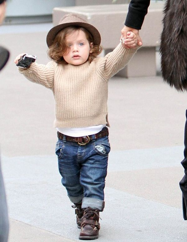 Celebrity Kid Winter Styles (AKA How This Stay-At-Home Mom Would Love to Dress Her Kids)