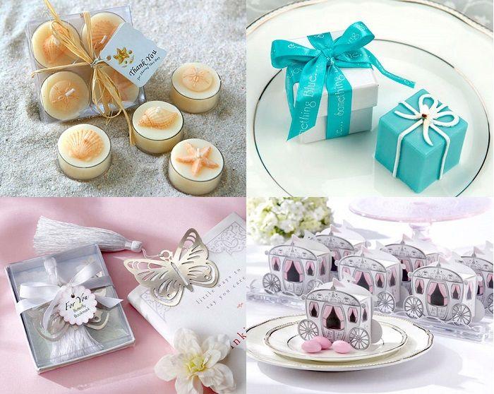 Идеи свадебных подарков для гостей