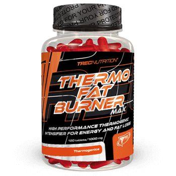 THERMO FAT BURNER MAX: Kompleks naturalnych termogeników   Przyspiesza przemianę materii Zwiększa spalanie kalorii i tłuszczu Kompleks naturalnych termogeników
