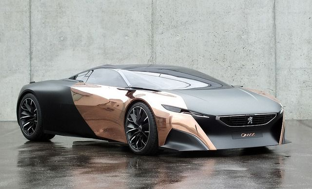 Peugeot Onyx Supercar Concept by 1GrandPooBah, via Flickr