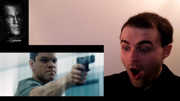 Jason Bourne Official Trailer #1 REACTION & REVIEW (Matt Damon Is Bourne...