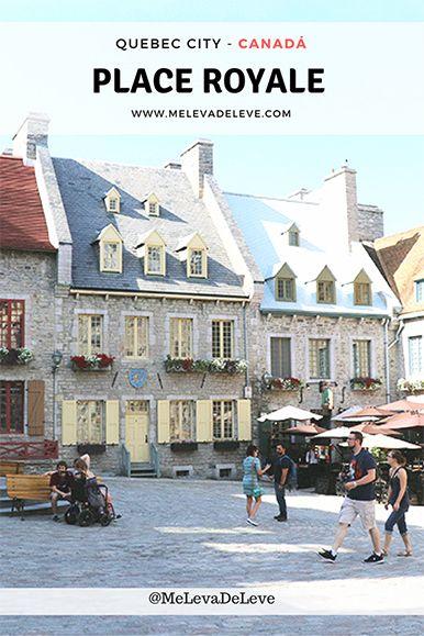 Place Royale em Quebec City, Canadá - Me Leva de Leve  Em Quebec City, não deixe de visitar a Place Royale. Além de muito charmosa, conta a história da cidade e do país. Confira o que fazer e mais fotos aqui.