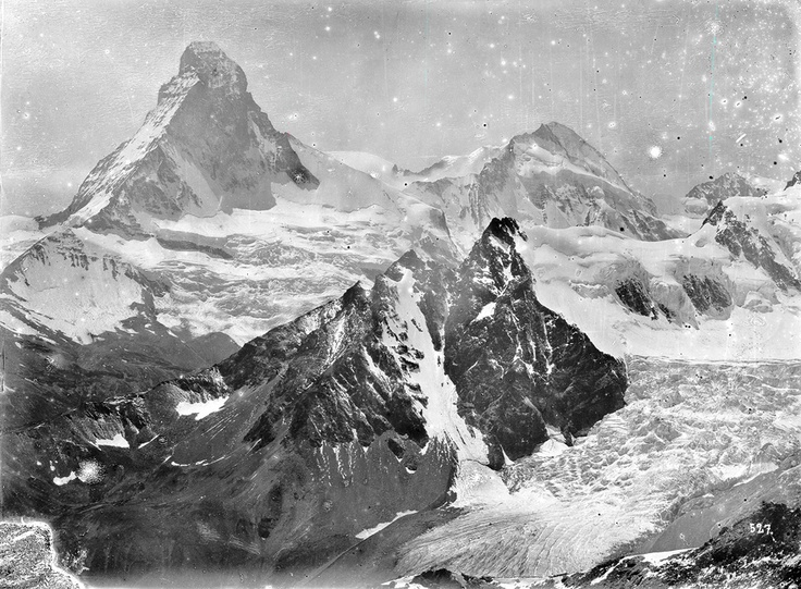 © Jules Beck, 1870-80s, Early high mountain photography, Switzerland - In this digital age, one cannot but wonder at the achievement of the valiant photographer-mountain climber 130 years ago. As of 1866 and several times a year over a period of 24 years, Beck undertook his almost 20-hour-long excursions up as far as the highest Alpine summits. Lugging a dry-plate camera the size of a microwave oven up snowy peaks, Beck became a pioneering adventure photographer.