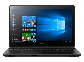 "Notebook Vaio Fit15F Intel Core i7 - 8GB 1TB LCD 15,6"" Windows 10"