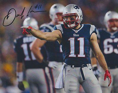Julian Edelman - New England Patriots - Autographed 8 x 10