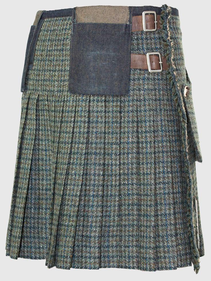 Harris Tweed Kilt | 21st CENTURY KILTS