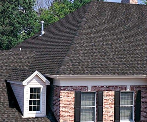 Lovely Tamko Rustic Black Shingles