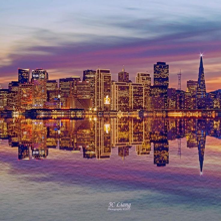 San Francisco skyline by @jc_liang #sanfrancisco #sf