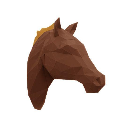 #Origami #3D Horse