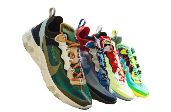 Release Date: Undercover x Nike React Element 87 Collection