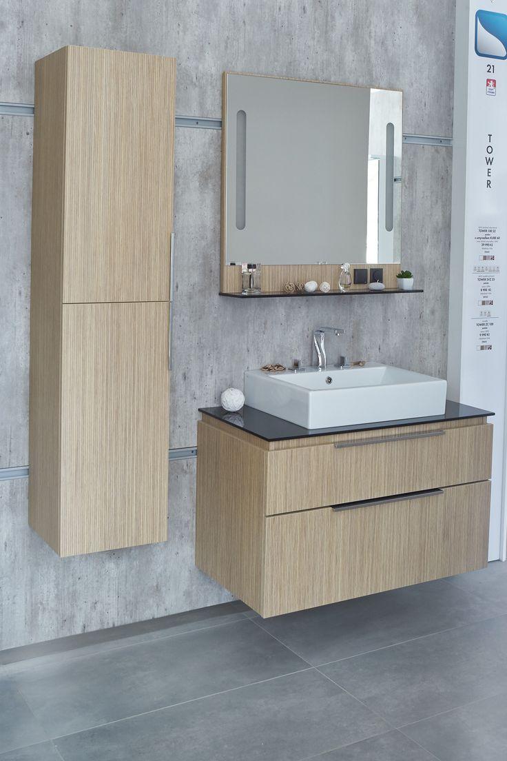 Elegantní nábytek do koupelny Dřevojas - koupelnová skříňka s umyvadlem, která vašemu interiéru dodá styl