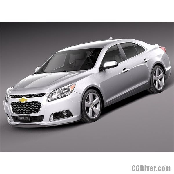 Chevrolet Malibu 2014 For Sale: Chevrolet Malibu 2014 - 3D Model