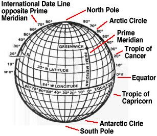 International Date Line Location On Map