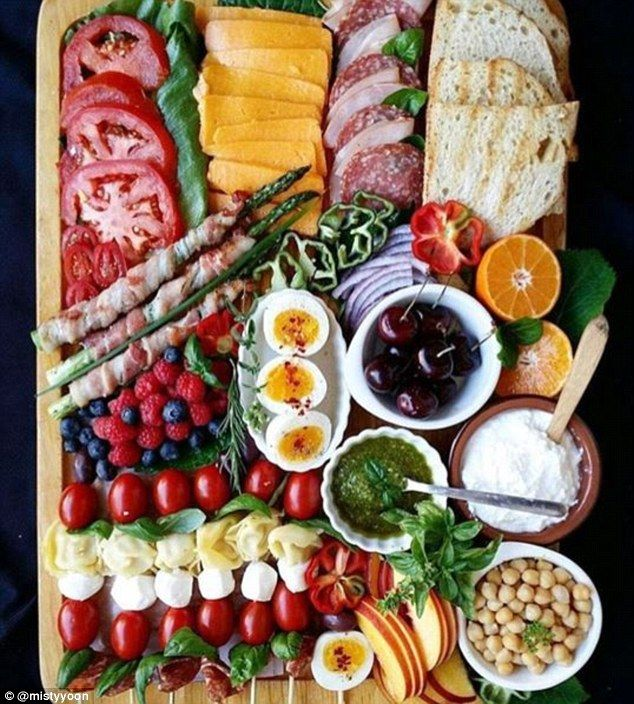 @mistyyoon has all the essentials for an amazing sandwich here, but it also looks great as a cheese platter